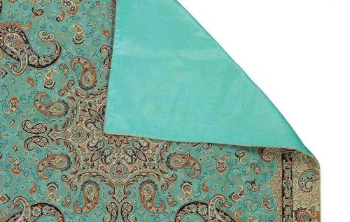Termeh, Persian Handmade Woven Silk Tapestry Tablecloth