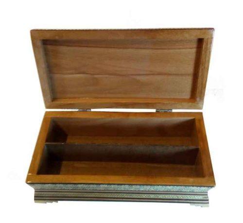 Khatam Kari Handmade Knife & Fork Box Code 1100