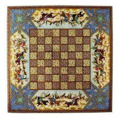 Chess & Backgammon Handmade Board, Khatam Code 630101