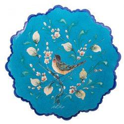 Persian MinaKari Hand Painted Copper Plate