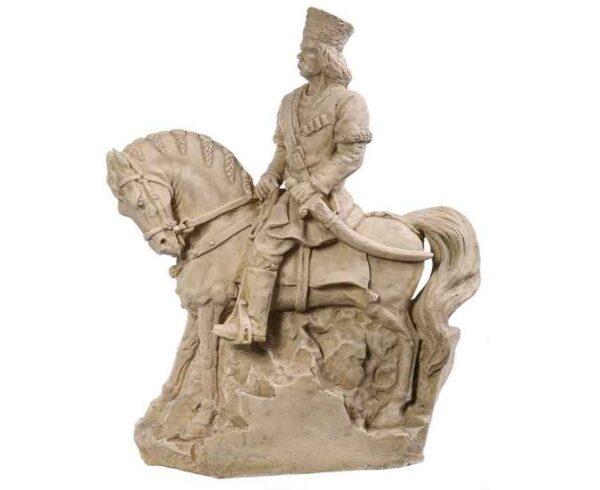 Koroghlu an Azerbaijani folk Hero Sculpture