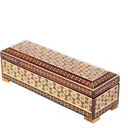 Khatam Kari Persian Handmade Jewelry or Pen box 01