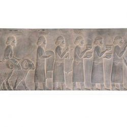 Persepolis - Gift of Syrian Tablet Statue S1100