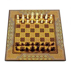 Chess & Backgammon Handmade Board, Khatam