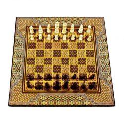 Chess & Backgammon Handmade Board, Khatam
