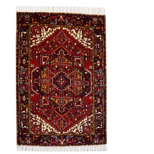 Handmade Persian Wool Carpet, Heris