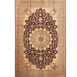 Handmade Persian Silk Carpet, Code 30007