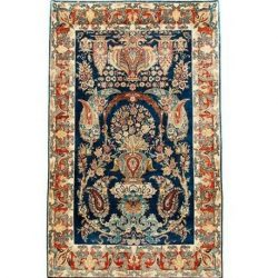Handmade Persian Wool Carpet, Code 101972