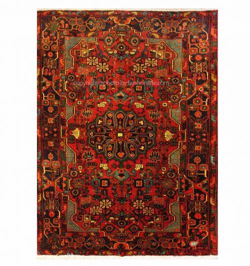 Handmade Persian Carpet, 100% Wool Code 108102