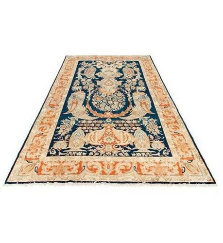 Handmade Persian Wool Carpet, Code 101973