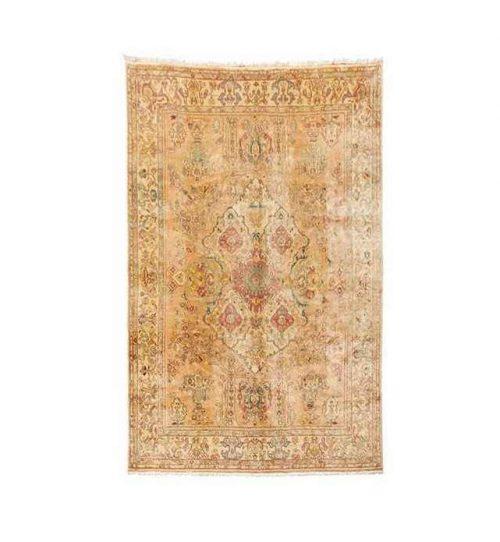 Handmade Persian Wool Carpet, Code 102008