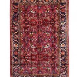 Handmade Persian Wool Carpet, Code 102021