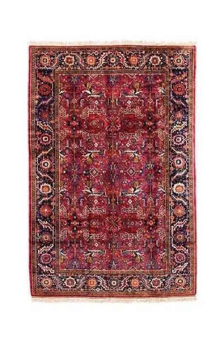 Handmade Persian Wool Carpet, Code 102021