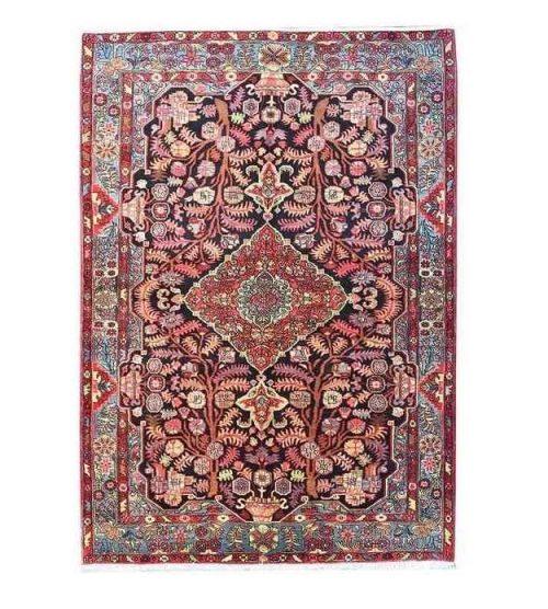 Handmade Persian Wool Carpet, Code H1369