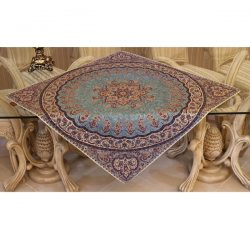 Termeh, Persian Style Tapestry Silk Tablecloth Code 45