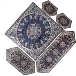 Termeh, Persian Style Tapestry Silk Tablecloth 46