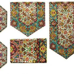 Termeh, Persian Style Tapestry Silk Tablecloth Code 47
