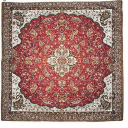 Termeh, Persian Style Tapestry Silk Tablecloth Code 48