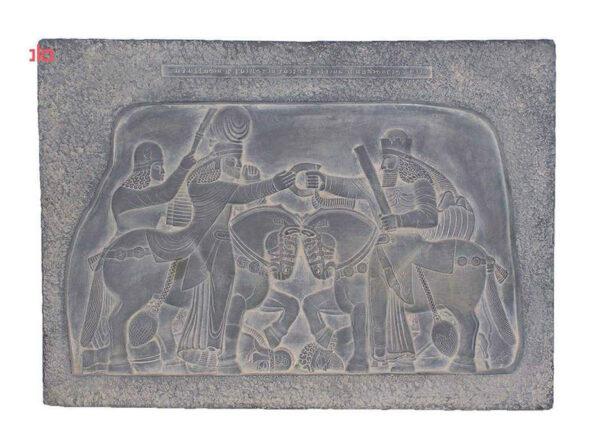 Ahura Mazda presenting the diadem of sovereignty to Ardashir I