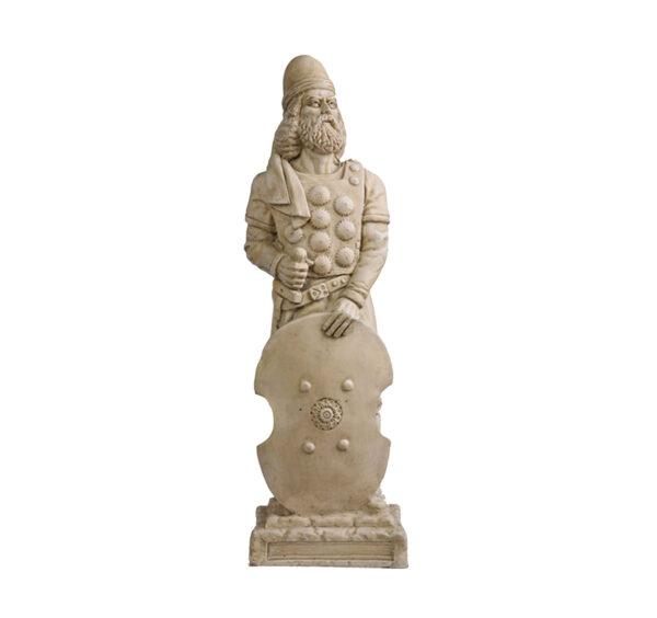 Babak Khorramdin Iranian Hero Sculpture
