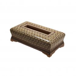 Khatam Kari Handmade Persian Wooden Tissue Box 02