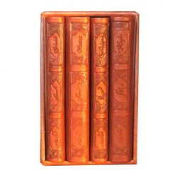 Set of Bustan & Gulistan Saadi, Rubaiyat of Khayyam & Divan of Hafez Farsi Books