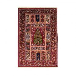 Handmade Persian Wool & Silk Rug 1105669