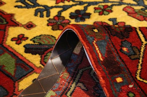 Handmade Persian Nahavand Carpet, 100% Wool