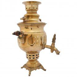 Persian Brass Coal Samovar Model G-208