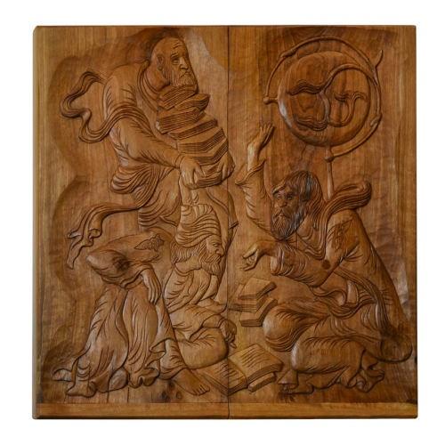 Backgammon Handmade Woodcarving Kayyam Cup