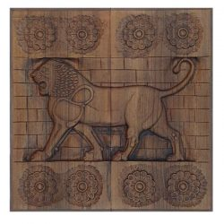 Backgammon Board, Persian Lion Code 630116