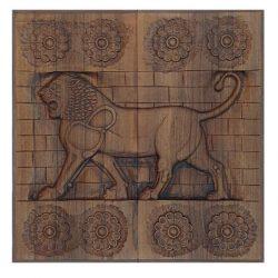 Backgammon Board, Persian Lion Code 630116