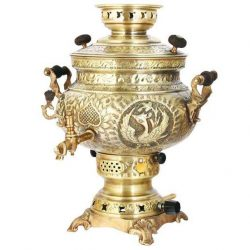 8 liter Persian Gas Samovar (Brass) S426