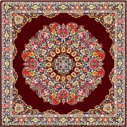 Termeh, Persian Style Tapestry Silk Tablecloth Code 43