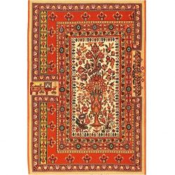 Handmade Persian Rug, 100% Wool 9509064