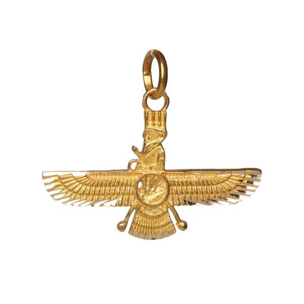 Farvahar Faravahar 18k Gold Necklace