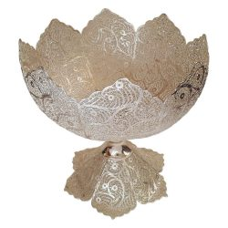 Persian Filigree Silver Nut Bowl Dish 05