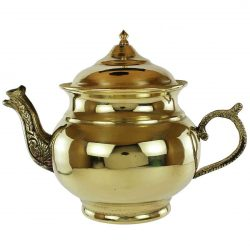 Engraved Copper Handmade Persian Tea pot