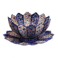 Persian MinaKari Handmade Bowl Code 8-10053