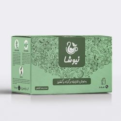 Newsha Herbal Tea, Fenugreek, Nettle & Coriander