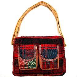 Handmade Persian Jajim shoulder bag Code 110
