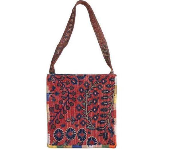Persian Handmade Carpet Women Shoulder Bag 10
