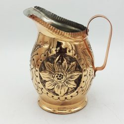Handmade Engraved Copper Water Pitcher