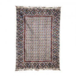 Block Printed (Kalamkari) Tablecloth, Atrian Model Sadr