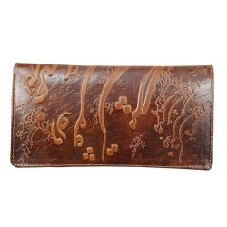 Genuine Leather Wallet, Persian Poems