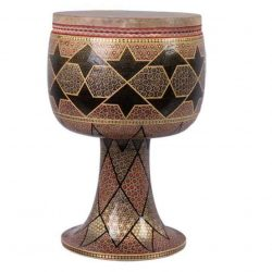 Persian Sowag Tonbak Tombak Zarb Drum Goat Skin Size 28
