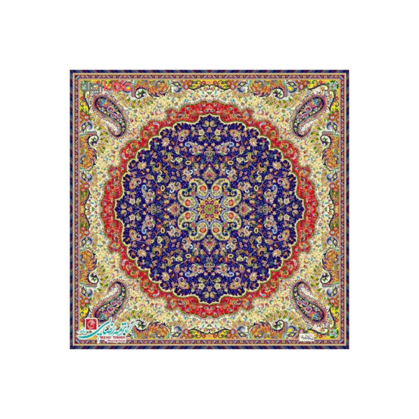Termeh, Persian Style Tapestry Silk Tablecloth Code 42