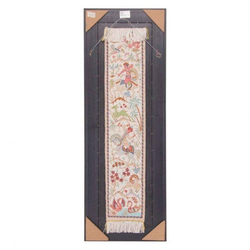 Handmade Persian Tableau Rug Carpet TABLO FARSH Code MOH51