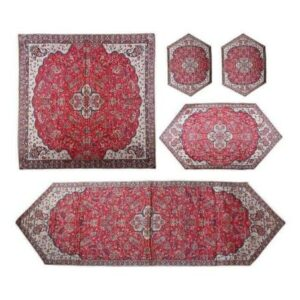 Termeh, Persian Style Tapestry Silk Tablecloth Code 07