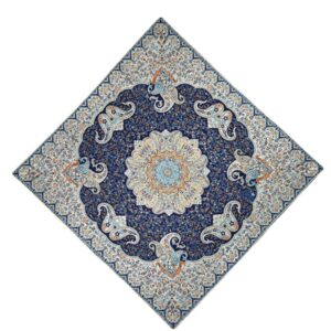 Termeh, Persian Style Tapestry Silk Tablecloth Code 12